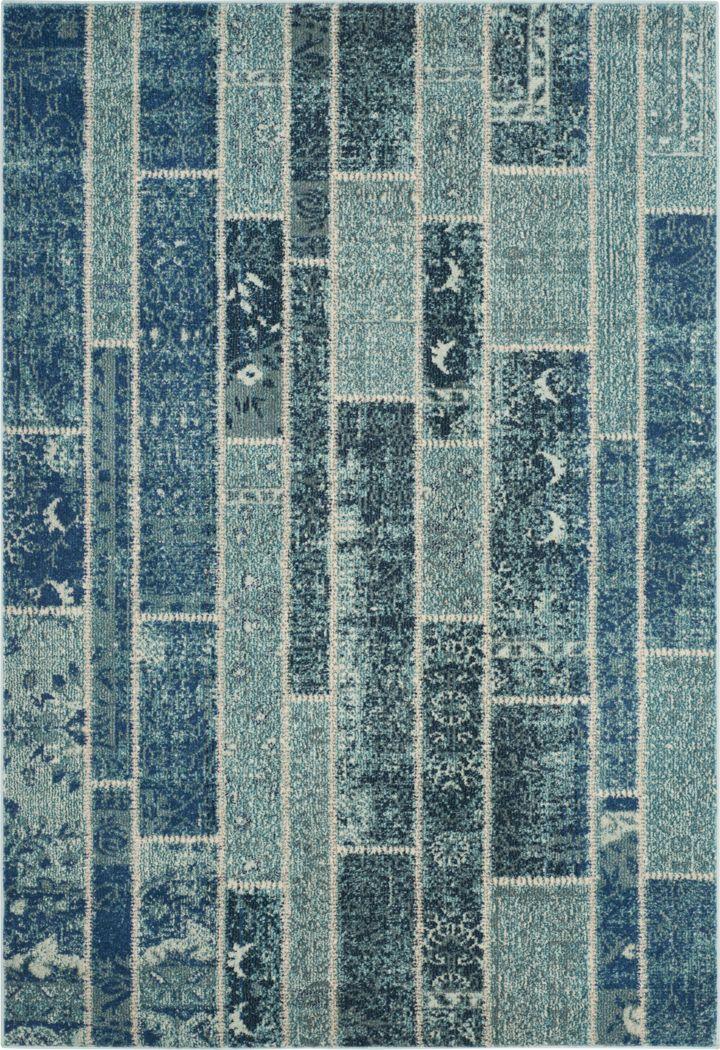 Sadia Blue 8' x 11' Rug