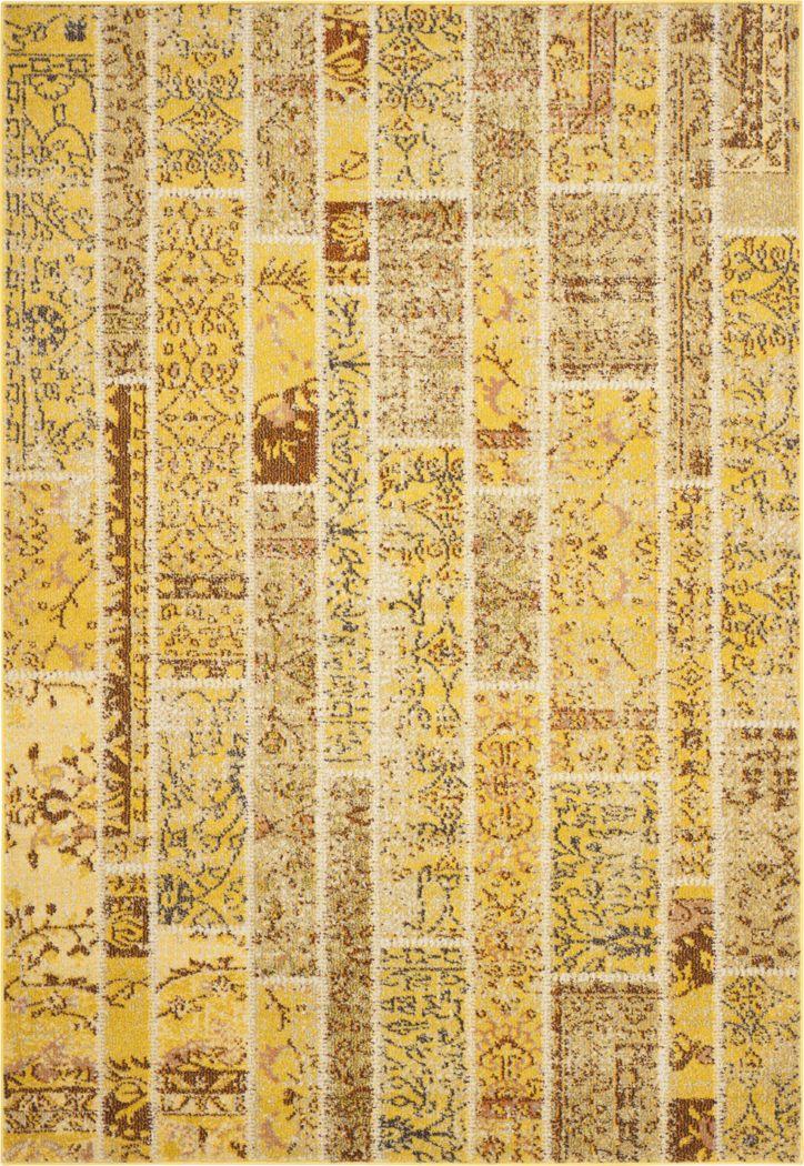 Sadia Yellow 8' x 11' Rug