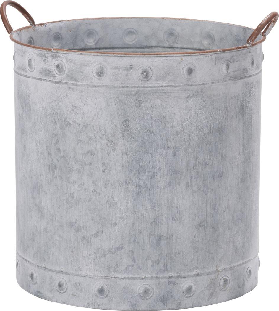 Saide Gray Medium Planter