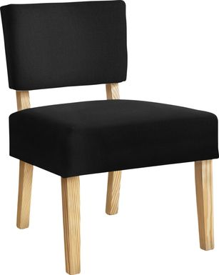 Saintmarks Black Accent Chair
