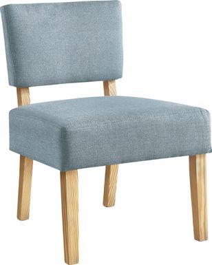 Saintmarks Blue Accent Chair