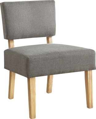 Saintmarks Gray Accent Chair