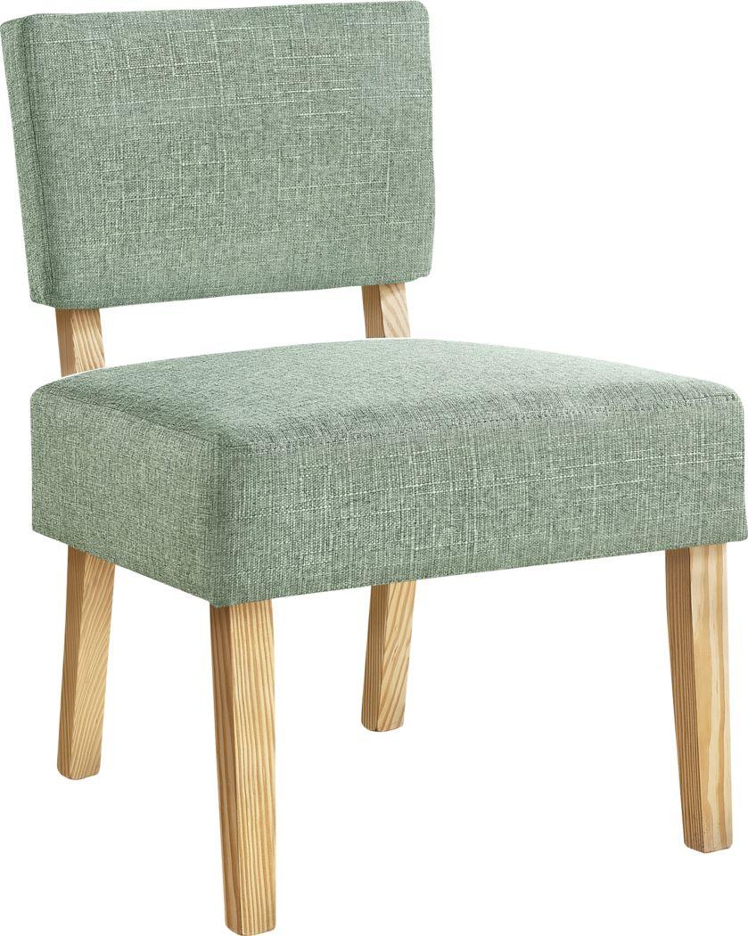 Saintmarks Green Accent Chair