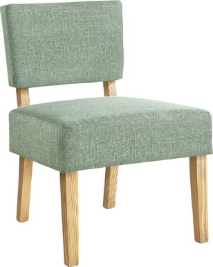 Saintmarks Green Accent Chair