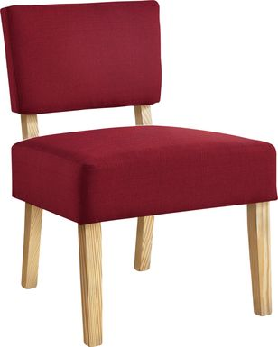 Saintmarks Red Accent Chair