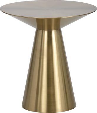 Saliba Gold Side Table