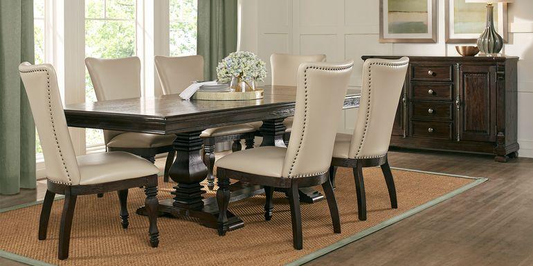 San Luis Oak 7 Pc Rectangle Dining Room