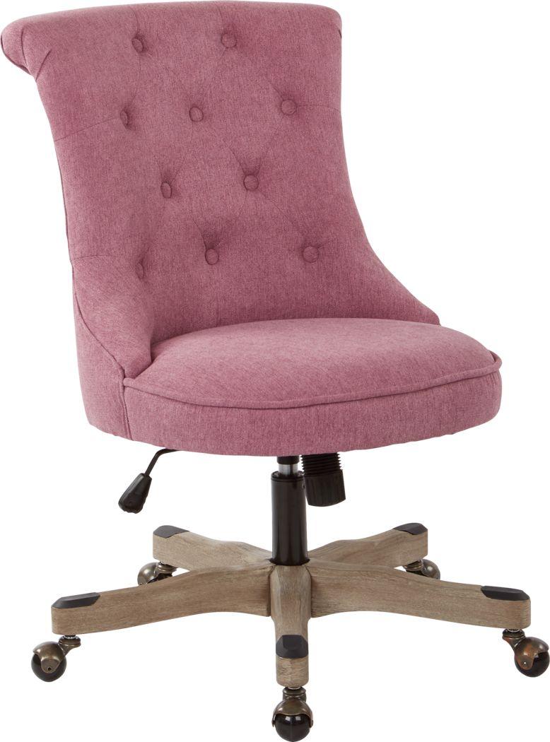 Sandcreek Pink Desk Chair