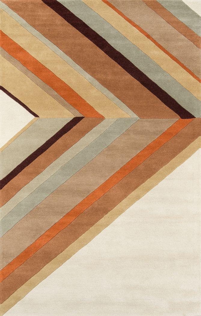 Sandhurst Brown 5' x 8' Rug