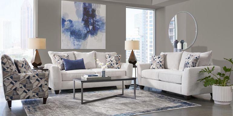 Sandia Heights Beige 2 Pc Living Room