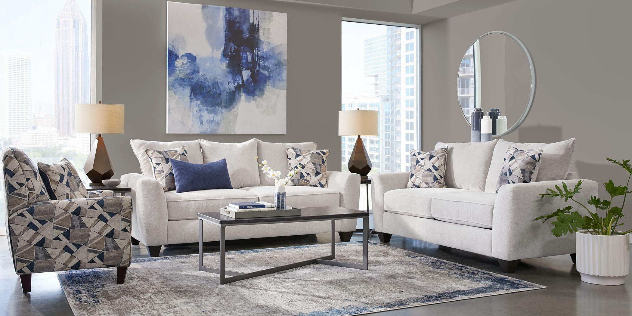 Sandia Heights Beige 5 Pc Living Room