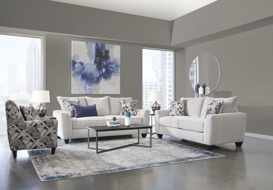 Sandia Heights Beige 7 Pc Living Room