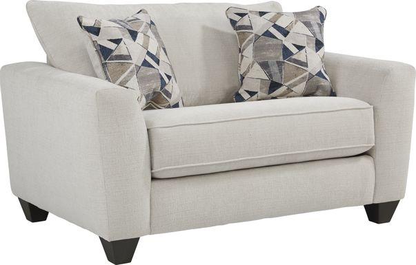 Sandia Heights Beige Gel Foam Sleeper Chair