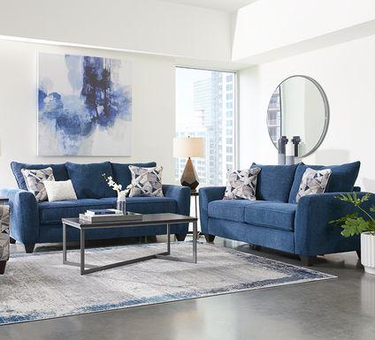 Sandia Heights Blue 5 Pc Living Room