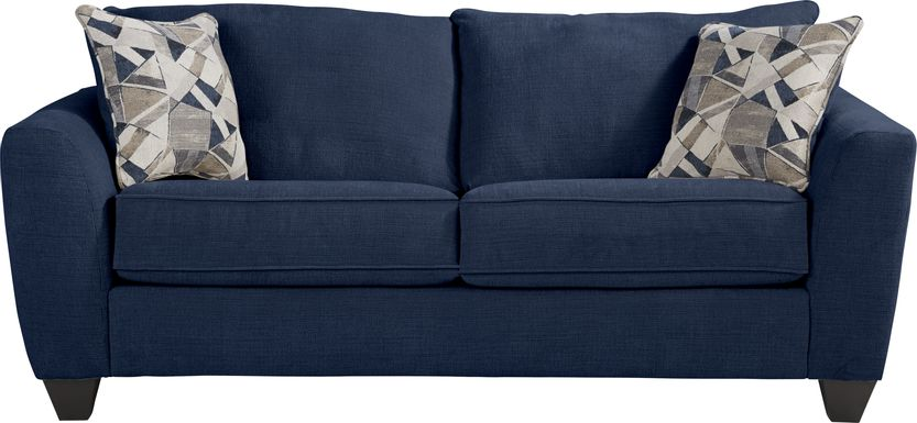 Sandia Heights Blue Loveseat