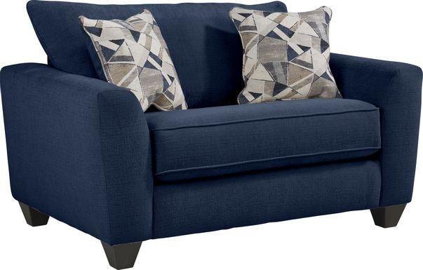 Sandia Heights Blue Sleeper Chair