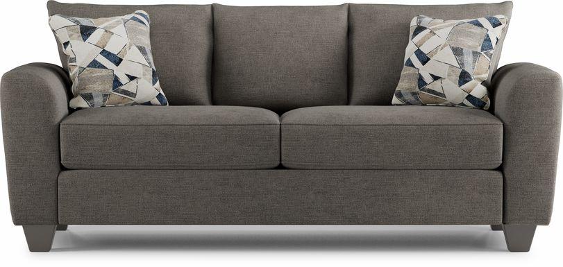 Sandia Heights Gray Sofa