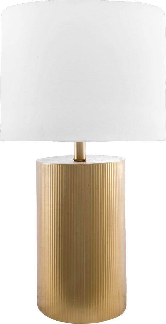 Sandwell Gold Lamp