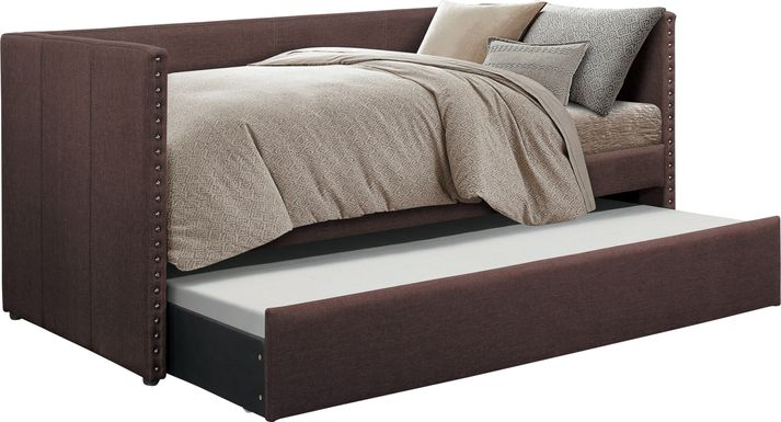 Sanford Way Brown Daybed with Trundle