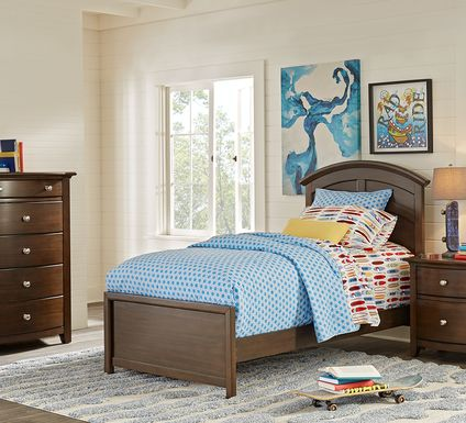 Kids Santa Cruz Cherry 5 Pc Full Panel Bedroom