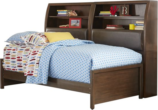 Santa Cruz Cherry 5 Pc Twin Bookcase Daybed