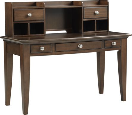 Kids Santa Cruz Cherry Desk & Hutch