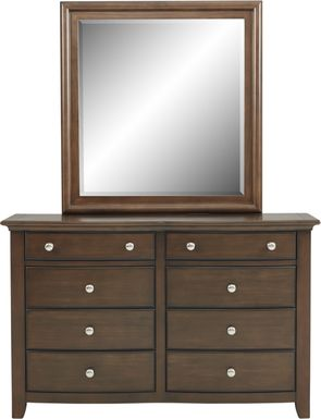 Kids Santa Cruz Cherry Dresser & Mirror Set