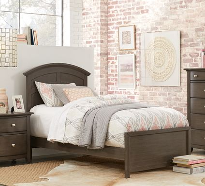 Kids Santa Cruz Gray 5 Pc Twin Panel Bedroom