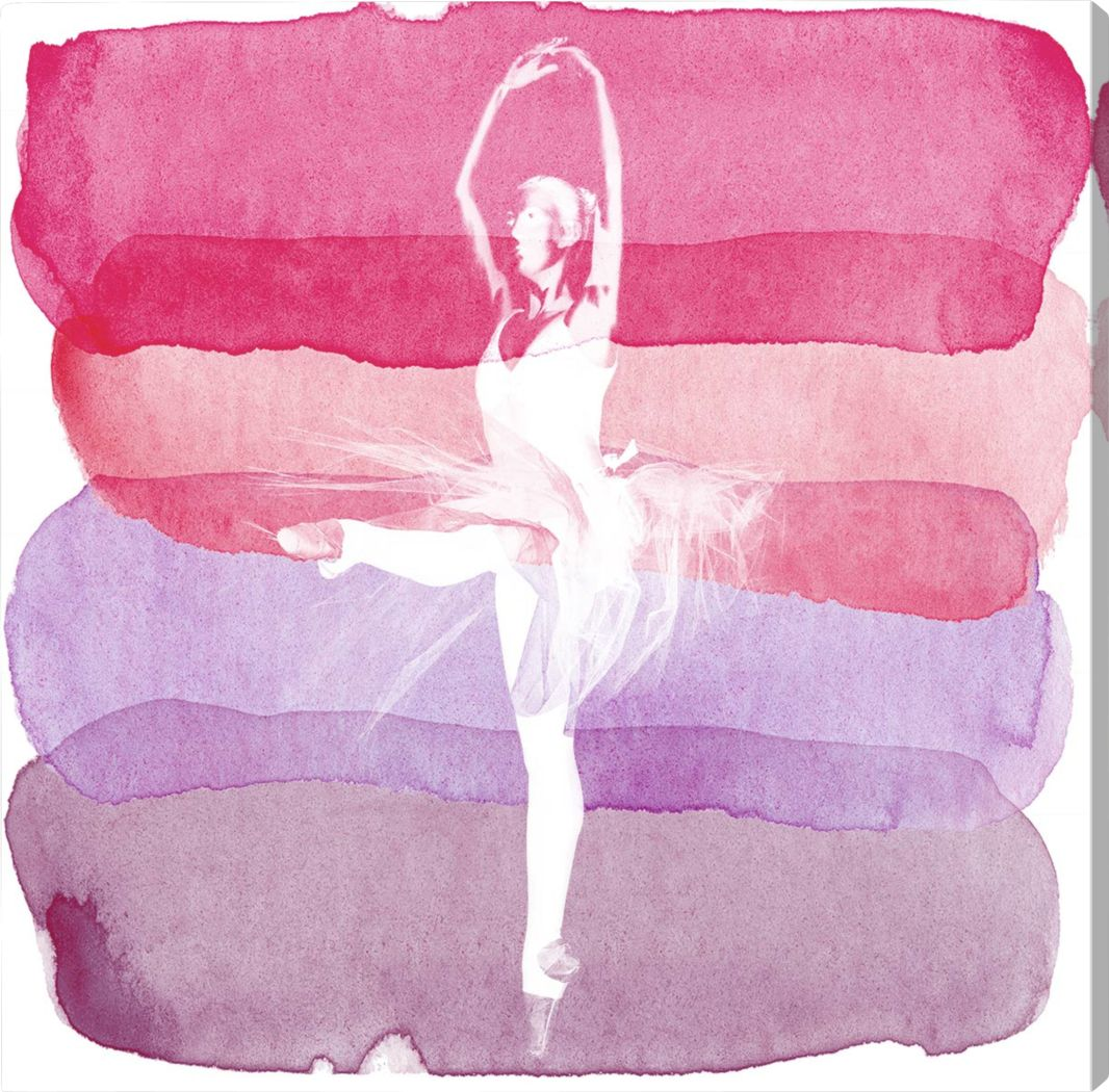 Sara's Recital II Pink Artwork