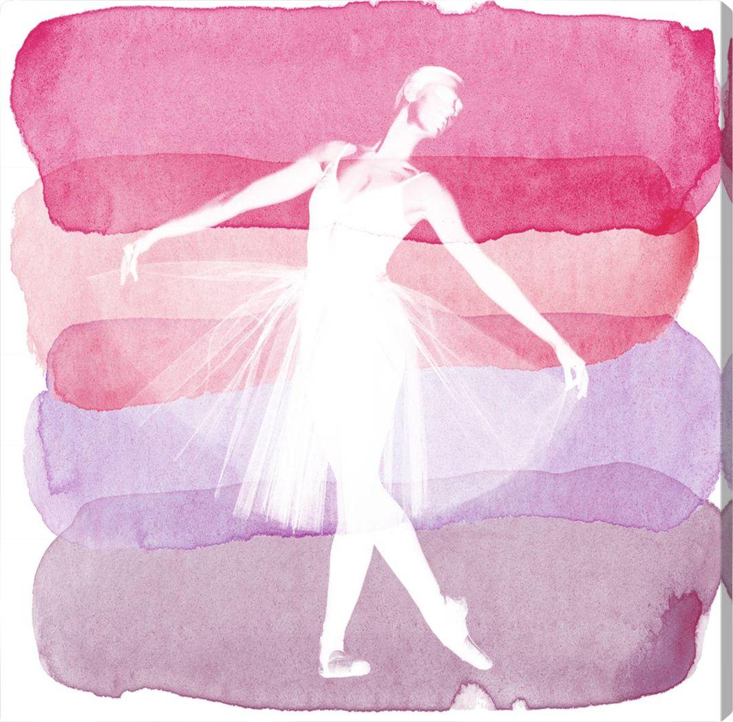 Sara's Recital III Pink Artwork
