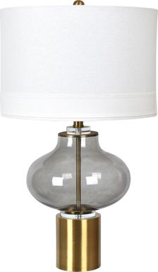 Sassa Drive Brass Lamp