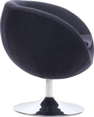 Satay Graphite Accent Chair