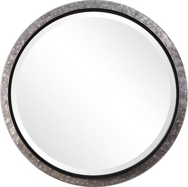 Saveria Silver Mirror