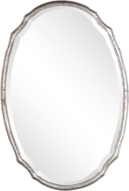 Savian Silver Mirror