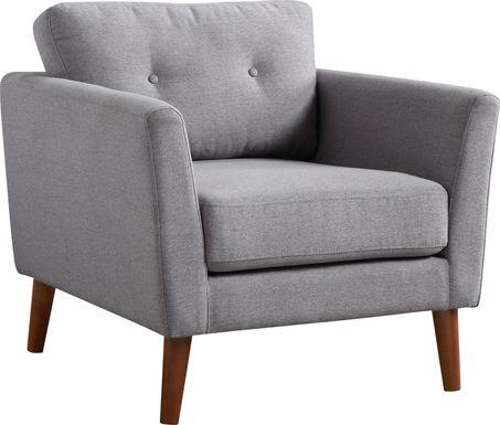 Seabolt Gray Accent Chair