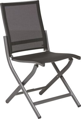 Seagate Pewter Outdoor Side Chair