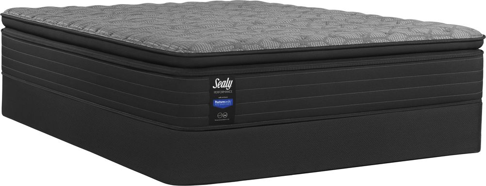 Sealy Performance Beech Street Low Profile King Mattress Set