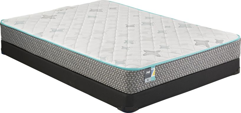 Sealy Z-301 Low Profile Full Mattress Set