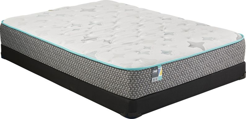 Sealy Z-501 Low Profile Full Mattress Set