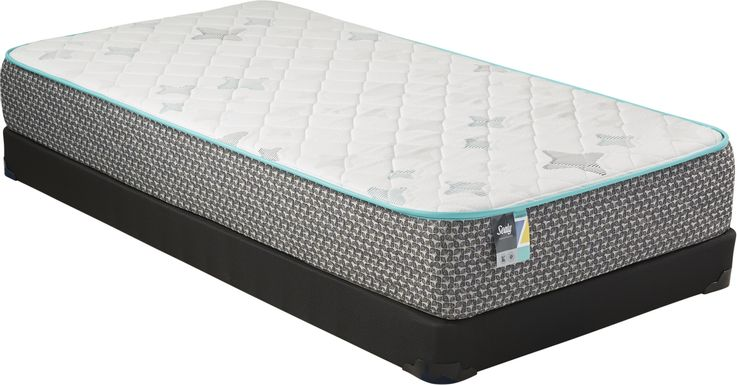 Sealy Z-701 Low Profile Twin Mattress Set