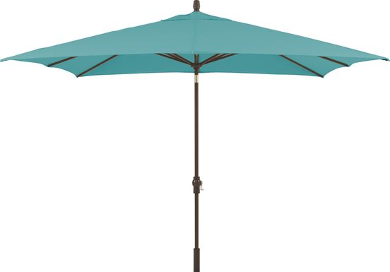 Seaport 8 x 10 Rectangle Lagoon Outdoor Umbrella