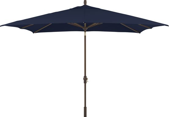 Seaport 8 x 10 Rectangle Navy Outdoor Umbrella
