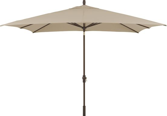 Seaport 8 x 10 Rectangle Stone Outdoor Umbrella