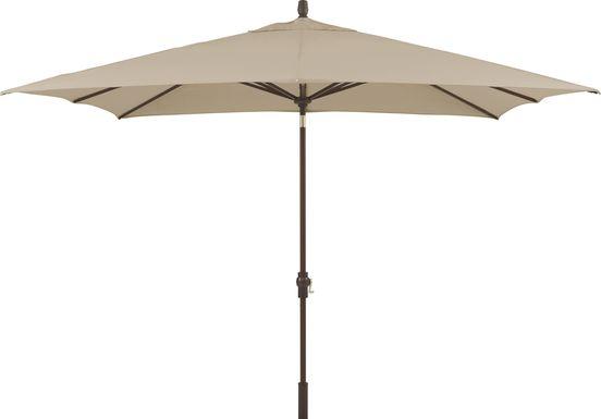 Seaport 8 x 10 Rectangle Stone Outdoor Umbrella