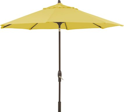 Seaport 9' Octagon Almond Outdoor Umbrella