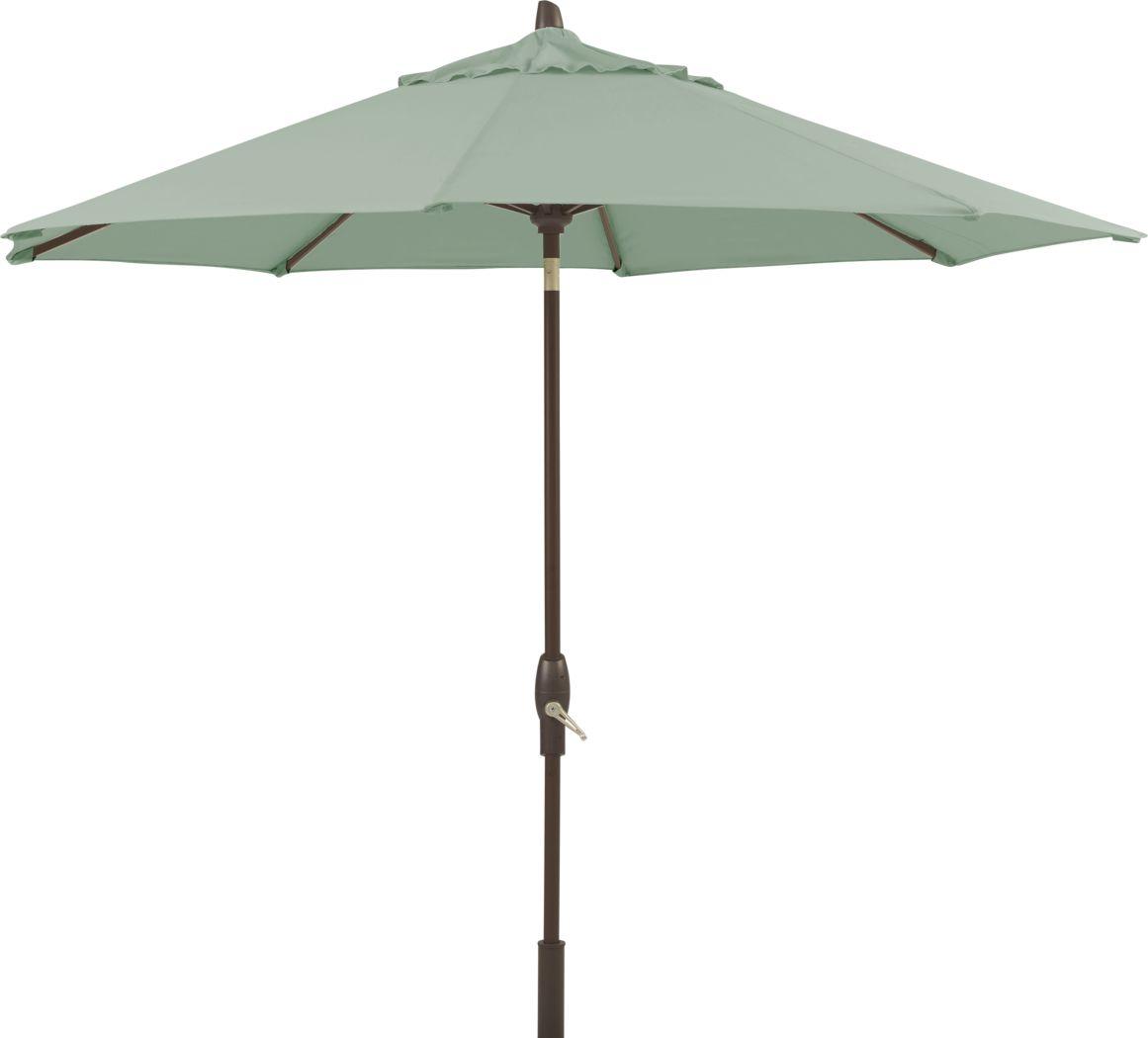 "Seaport 9"" Octagon Seafoam Outdoor Umbrella"
