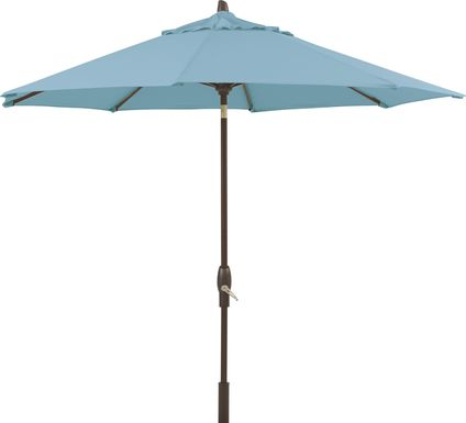 Seaport 9' Octagon Mineral Outdoor Umbrella