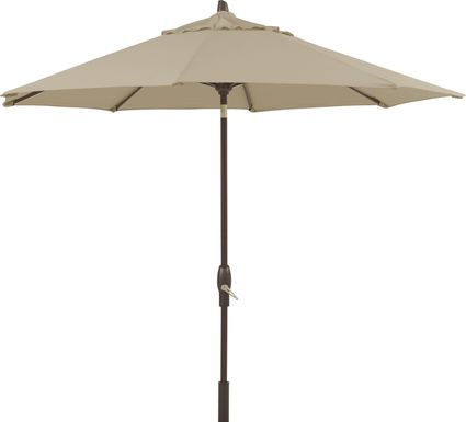Seaport 9' Octagon Stone Outdoor Umbrella