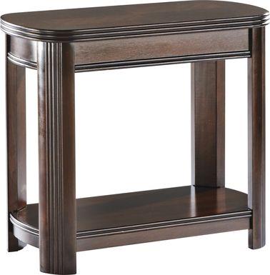 Sedalia Merlot Chairside Table