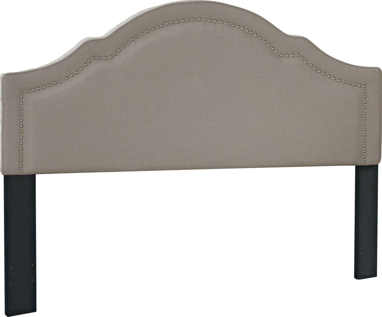 Seldalia Gray King Upholstered Headboard